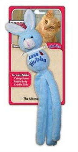 KONG Cat Wubba Bunny, Cat Toy (Colors Vary), My Pet Supplies
