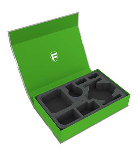 Feldherr Magnetic Box green for Star Wars X-WING Shadow Caster, 2 ships and accessories -
