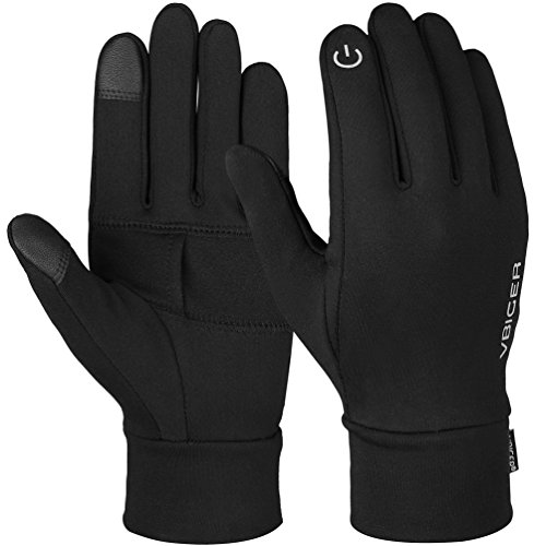 - VBG VBIGER Touch Screen Gloves Anti-slip Running Cycling Gloves Sports Gloves Liner Winter Gloves for Men Women