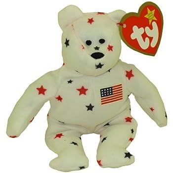 Amazon.com  TY McDonald s Teenie Beanie - GLORY the Bear (1999) (5 ... 677ebd6bc4f9