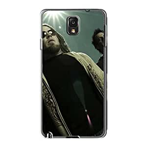 Bumper Hard Cell-phone Case For Samsung Galaxy Note3 With Allow Personal Design Trendy Drowning Pool Band Pictures TimeaJoyce