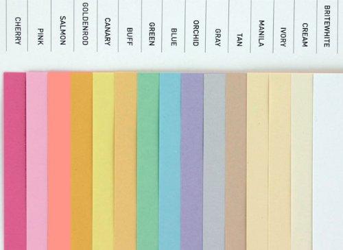 Amazon.com : Domtar Colors - Earthchoice CREAM Opaque Text - 8.5 x ...