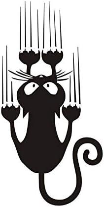 25 * 50cm gracioso gato etiquetas de la pared de escalada ...
