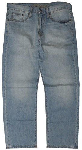 American Eagle Outfitters Denim - American Eagle Outfitters Men's Relaxed Straight Denim Blue Jeans (30 x 30)