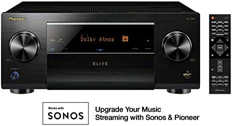Pioneer Elite 11.2 Channel Class D3 Network AV Receiver, Black SC-LX901