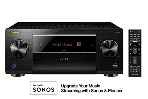 (Pioneer Elite 11.2 Channel Class D3 Network AV Receiver, Black (SC-LX901))