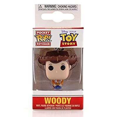 Funko Pop Keychain: Toy Story - Woody: Toys & Games
