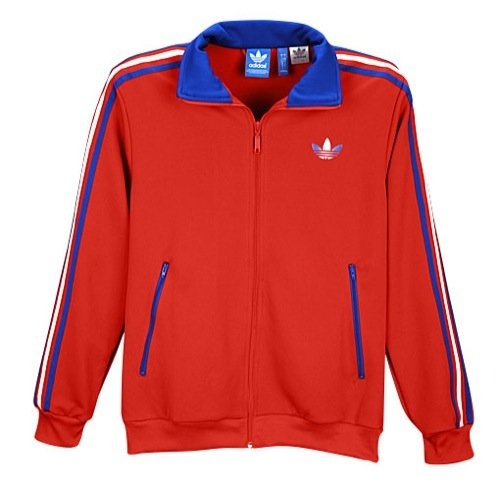 Firebird Track Top - adidas Originals Firebird Men`s Track Jacket - University Red (X-Large)