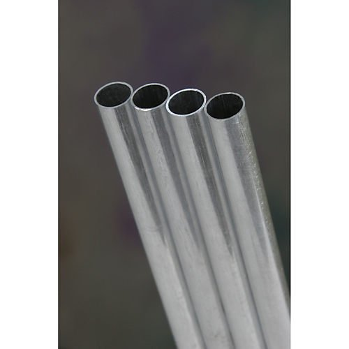 K&S プレシジョンメタル アルミパイプ 外径9mm 内径8.1mm 長さ300mm (1本入り) 素材 KS9808   B005WPANM8
