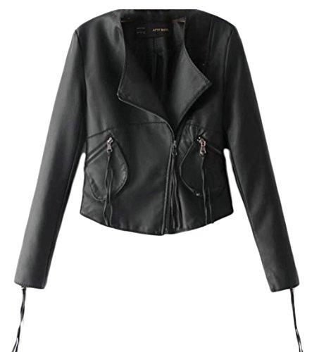 Wilsons Leather Biker Jacket - 3
