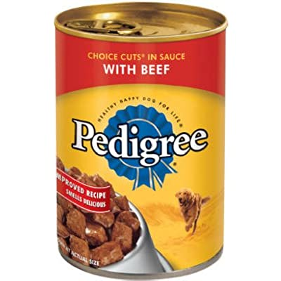Pedigree 10177293 Choice Cuts Canned Dog Food, Country Stew, 13.2-oz. - Quantity 12