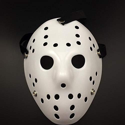 UltraZhyyne - Christmas Cosplay Exquisite Mask Friday The 13th Hockey Mask Horror Cosplay Mask [G] ()