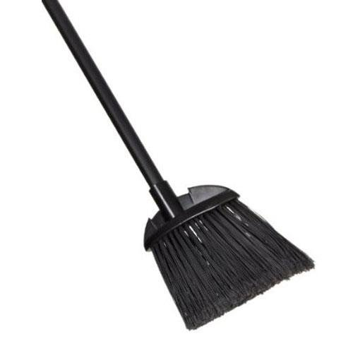 Bristle Lobby Broom - Rubbermaid Commercial Products FG637400BLA Lobby Dust Pan Broom, Black