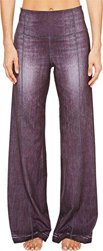 Lucy Women's Indigo Flare Pants Black Indigo Pants