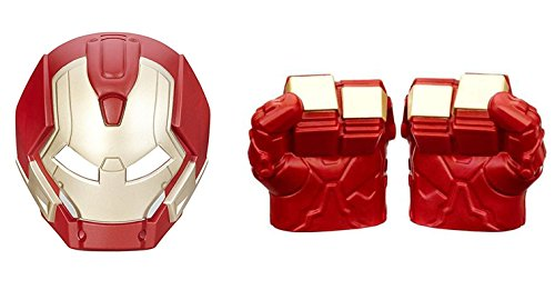[Avengers Hulk Buster Mask and Fists Battle Gear Bundle] (Hulkbuster Costume For Kids)