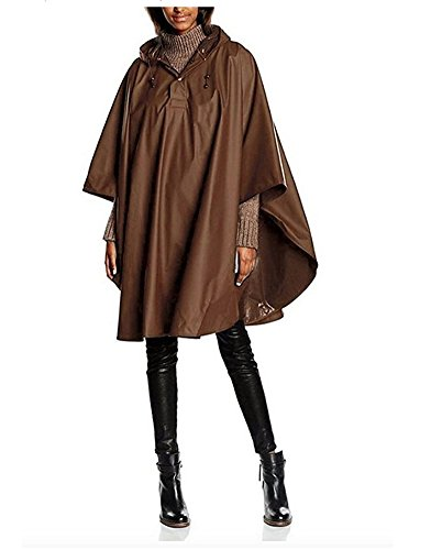 Charles River Apparel Pacific Poncho (Chocolate), One -