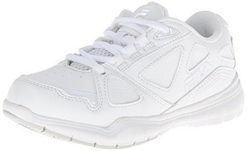 (Fila Side-By-Side Training Shoe (Little Kid/Big Kid),White/White/White,12 M US Little Kid)