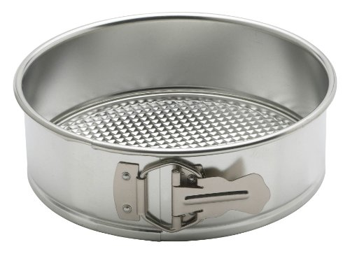(Mrs. Anderson's Baking 93226 Anderson's Springform Pan, Waffle Bottom, Tinned Steel, Round, 8-Inches, Charcoal)