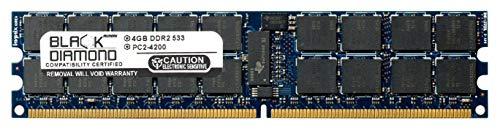 4GB RAM Memory for Sun Netra T2000 Server 240pin PC2-4200 DDR2 ECC Registered RDIMM 533MHz Black Diamond Memory Module Upgrade