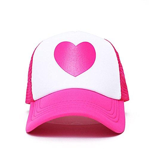 Mabel Pines Pink Heart Trucker Hat Gravity Falls TV Show Baseball Cap Costume]()