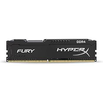 Kingston Technology HyperX FURY 2400MHz DDR4 Non-ECC CL15 DIMM 4 DDR4 2400 MT/s (PC4-19200) HX424C15FB/4