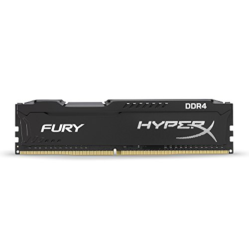 Kingston Technology HyperX Fury 2400MHz DDR4 Non-ECC CL15 DIMM 4 DDR4 2400 MT/s (PC4-19200) HX424C15FB/4