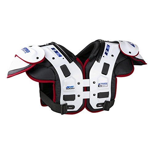 CHAMPRO AMT-1000 Varsity Shoulder Pad; M Adult Football Shoulder Pads
