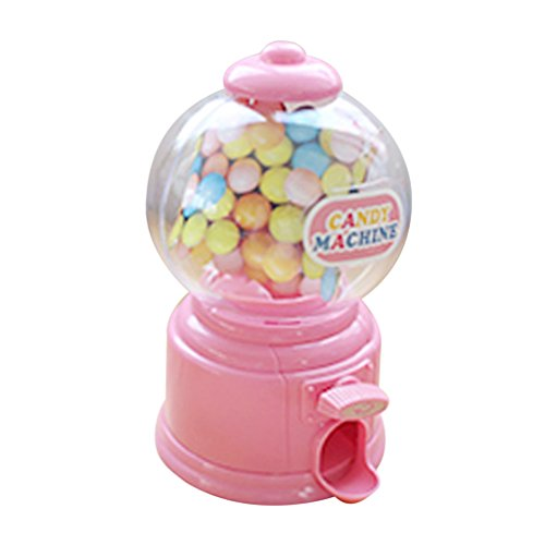 MagiDeal Mini Cute Candy Gumball Jelly Beans Sugar Vending M