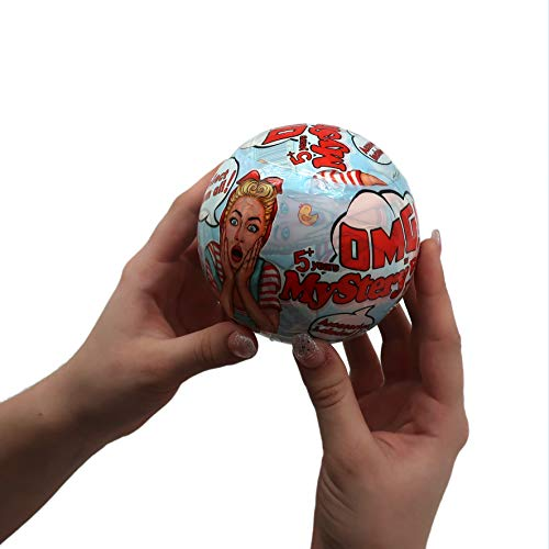 (Mystery OMG Baby Doll Balls – Surprise Blind Bag Toy – Collectable Baby Dolls & Accessories Inside Each Ball – Exciting Gift for)
