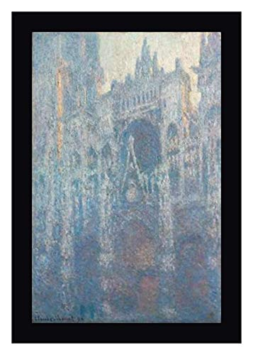 The Portal of Rouen Cathedral in Morning Light by Claude Monet - 11