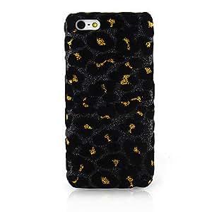 Leopardo del arte del paño nuevo caso para iPhone 5C