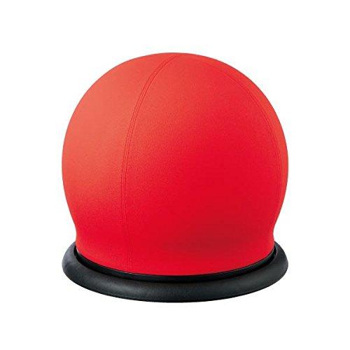 インテリア 家具 便利 おしゃれ スツール型バランスボール BC-B RE 回転 B01HJ3KX6G