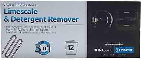 Hotpoint lavadora y lavavajillas la cal y eliminador de detergente ...