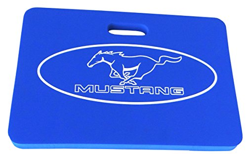 Goboxes 9625 Kneeling Mat with Mustang Logo, Large, Blue