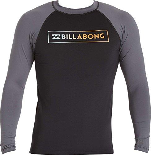 Billabong Men's Performance Fit Long Sleeve Rashguard, Bl...