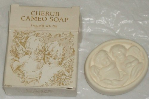 - Avon 2002 Cherub Cameo Mini Soap Cake 1 Oz.
