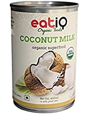 Eatiq Organic Foods Organic Coconut Milk 400gm