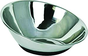 Ourpets Company 2400012856 Tilt-A-Bowl Stainless Steel, Small/2.5 Cup