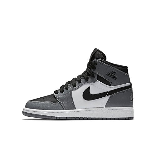 Jordan Big Kids Air Jordan 1 Retro High (GS) (cool grey / cool grey-white-black) Size 5.0 US