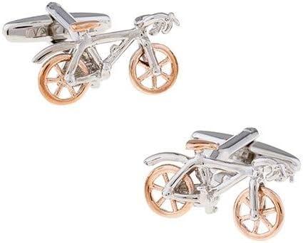 Gemelos para Camisa Bicicleta Rose y Plata: Amazon.es: Ropa y ...