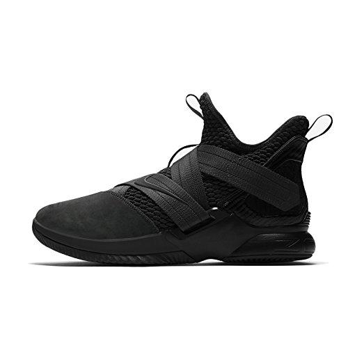 Fabric James Lebron (Nike Lebron Soldier XII SFG Mens Hi Top Basketball Trainers AO4054 Sneakers Shoes (UK 7 US 8 EU 41, antaracite Black 002))