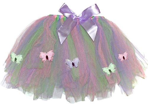 Girls Butterfly Tutu Skirt Fairy Princess Dress Up Ballerina Halloween (Dragonfly Costume Toddler)