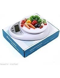 Purchase 1 Pcs Kitchen 5kg-1g LCD Scale Digital Kitchen Food Diet Postal Weight Balance Digital Kitchen Scales discount