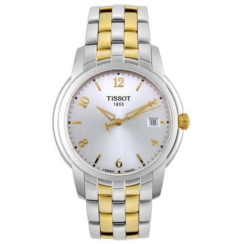 Tissot Two Tone Bracelet - Tissot Men's T97248132 T-Classic Ballade III Quartz Collection Watch