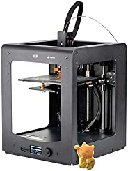 Monoprice Maker Ultimate 3D Printer With Large Heated (200 x 200 x 175mm ) Build Plate, MK11 DirectDrive Extruder + Free Sam