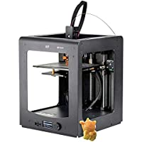 Monoprice Maker Ultimate 3D Printer With Large Heated (200 x 200 x 175mm ) Build Plate, MK11 DirectDrive Extruder + Free Sample PLA Filament & 4GB MicroSD Card Preloaded With Printable 3D Models