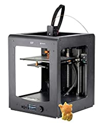 The Ultimate 3D Printer is capable of professional quality 3D printing with a fine layer resolution as low as 20 microns (0.02 mm). The rigid all-metal frame design results in a stable print platform, which allows for print speeds up to 150 m...