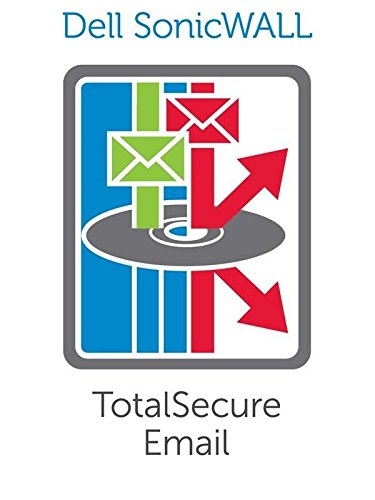 SONICWALL | 01-SSC-1910 | SONICWALL ADVANCED TOTALSECURE EMAIL SUBSCRIPTION 5,000U 1YR by Sonicwall (Image #1)