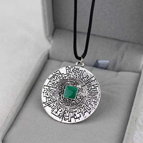 Necklace for Men Movies Jewelry The Maze Runner Labyrinth Necklace Thomas Leather Rope Necklace For Women Men Jewelry Gift