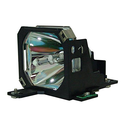 AuraBeam Economy Epson PowerLite 7550C Projector Replacement Lamp with Housing